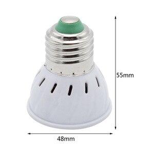 Image 4 - 1 قطعة 6W 9W 12W E27 / E14 / GU10 / MR16 220V LED مصباح الضوء 48LED 60LED 80LED 2835 SMD ضوء الثريا استبدال مصباح هالوجين
