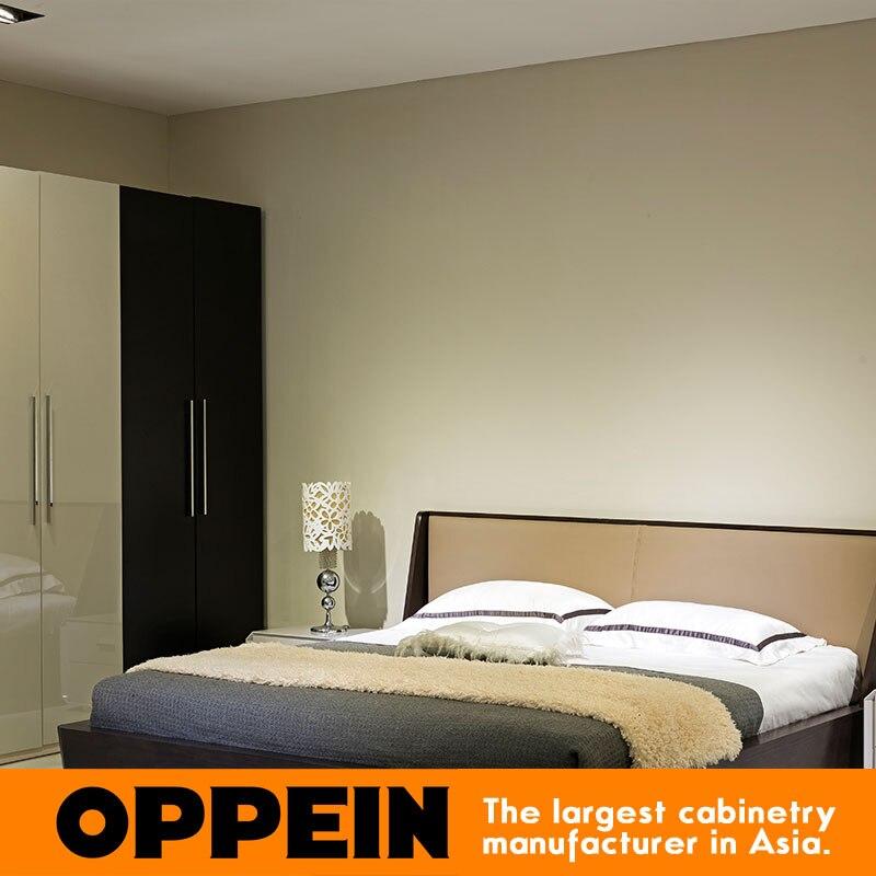 moderno y muebles de estilo casa de la reina cama de tejido para juegos de dormitorio de madera maciza