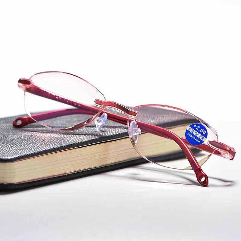 4c3d85136 Caleidoscópio Óculos Anti Luz Azul sem aro óculos de leitura presbiopia  hipermetropia óculos lupa + 1.0, + 1.5, + 2.0, + 2.5, + 3.0