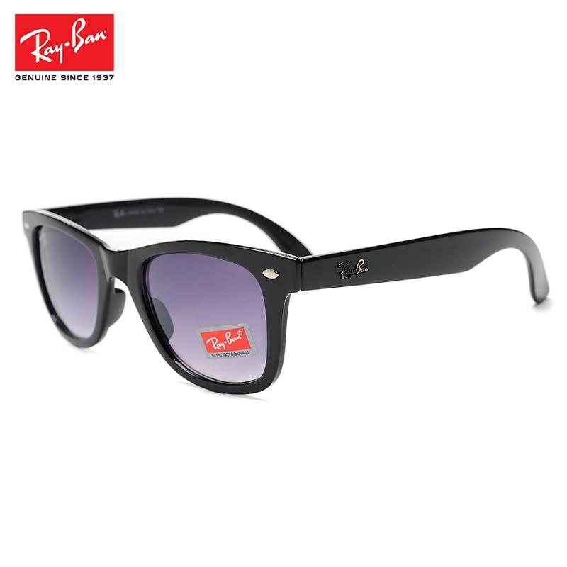 2018 Nuovo RayBan Plastica Farme Glassess RayBan Occhiali Da Sole Per Gli Uomini/Donne Pieghevole protezione Escursioni Occhiali Vendita Calda