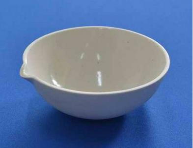 1pcs 3000ml Flat Bottom, with Spout,Porcelain Evaporating Dish,free shipping 3000ml porcelain evaporating dish one pc free shipping