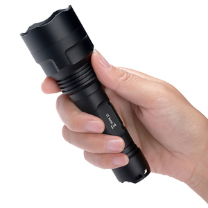 Image 3 - Sofirn C8A Kit Tactical LED Flashlight 18650 Cree XPL2 Powerful 1750lm Flash light High Power Torch Light with Battery Charger