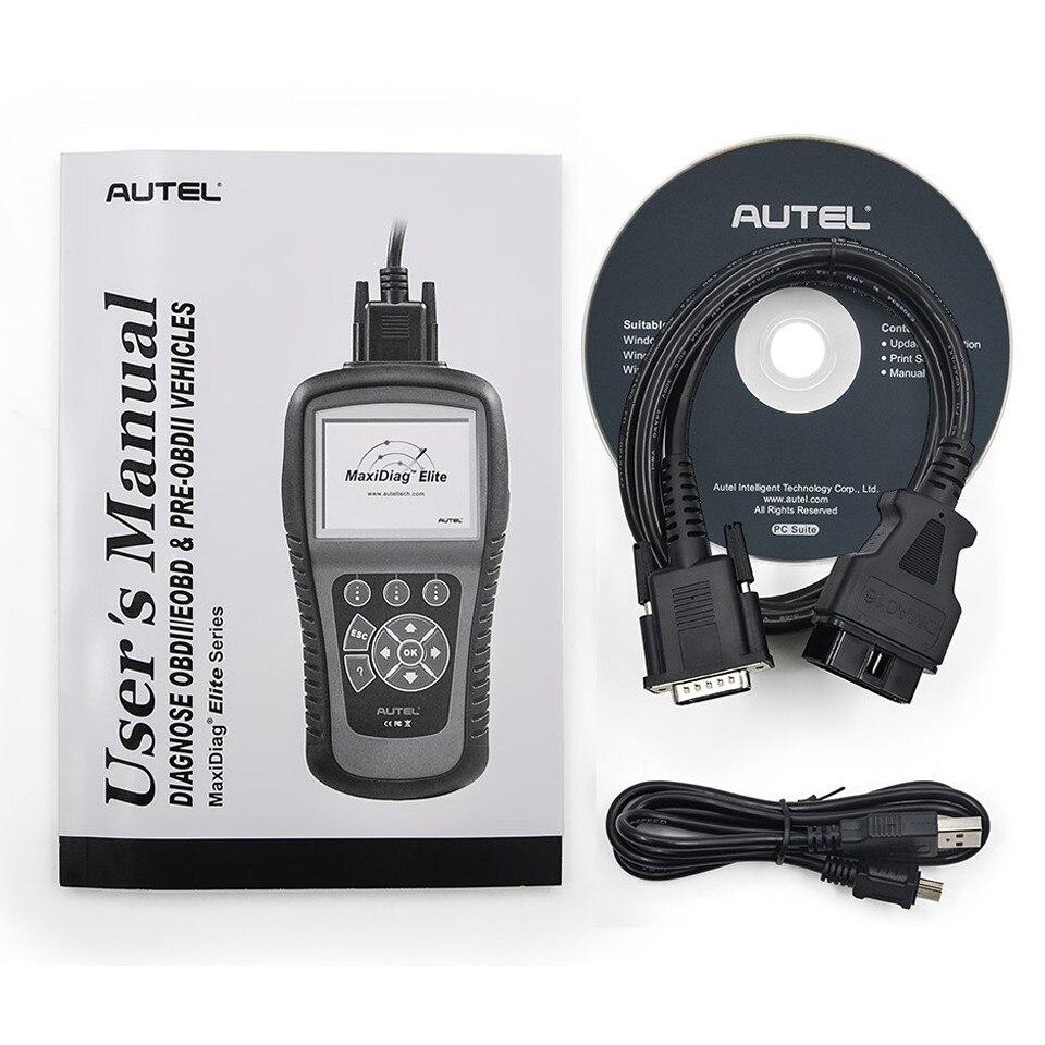 Autel MaxiDiag MD806 автомобильный диагностический инструмент с двигателем/передачей/ABS/SRS диагностирует полный OBD2 функции Автомобильный сканер