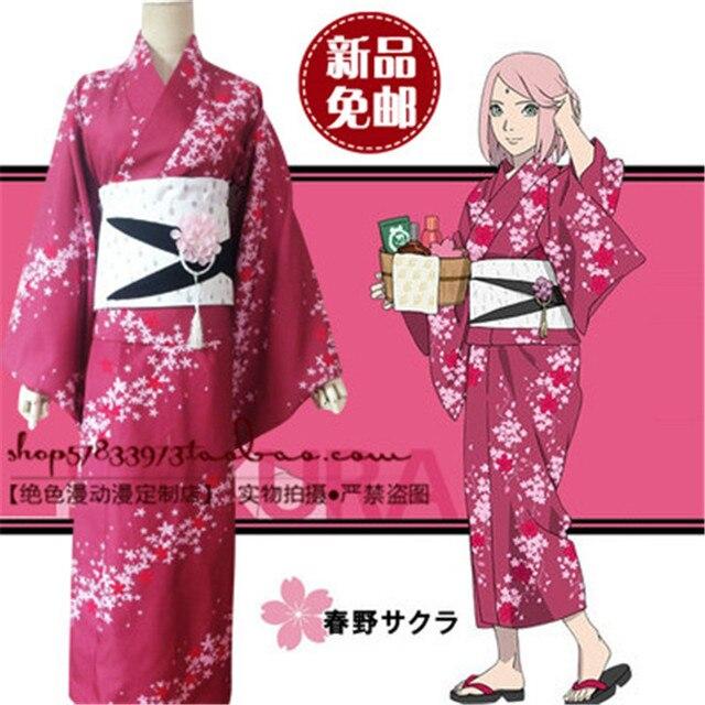 с сакурой картинки кимоно