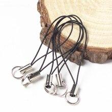 20 шт./лот кольцо для ключей со шнуром для ключей DIY сумка для ключей сумки вешалка для игрушек зажимы держатель для ключей брелок DIY аксессуары для ключей