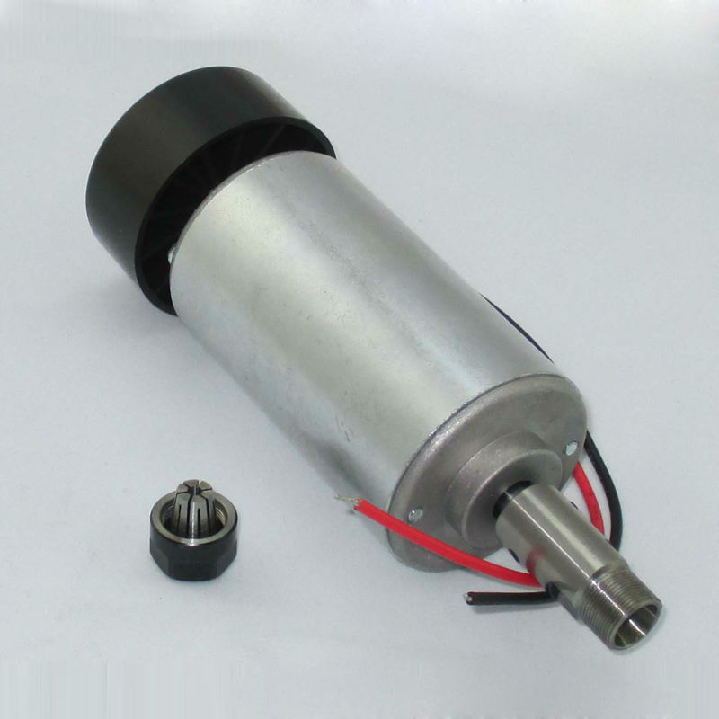Free shipping 0.3KW cnc spindle motor 300W spindle motor DIY dc 12-48 cnc 300w spindle motor for PCB milling machine