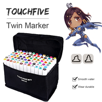 TOUCHFIVE 30 36 40 60 72 80 168 Color Markers Pen For School Material For Drawing