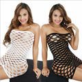 Female Women Erotic Porn Sexy Lingerie Fishnet Seamless Crotch Body Stocking Nightwear Nightdress Costumes W9R1C