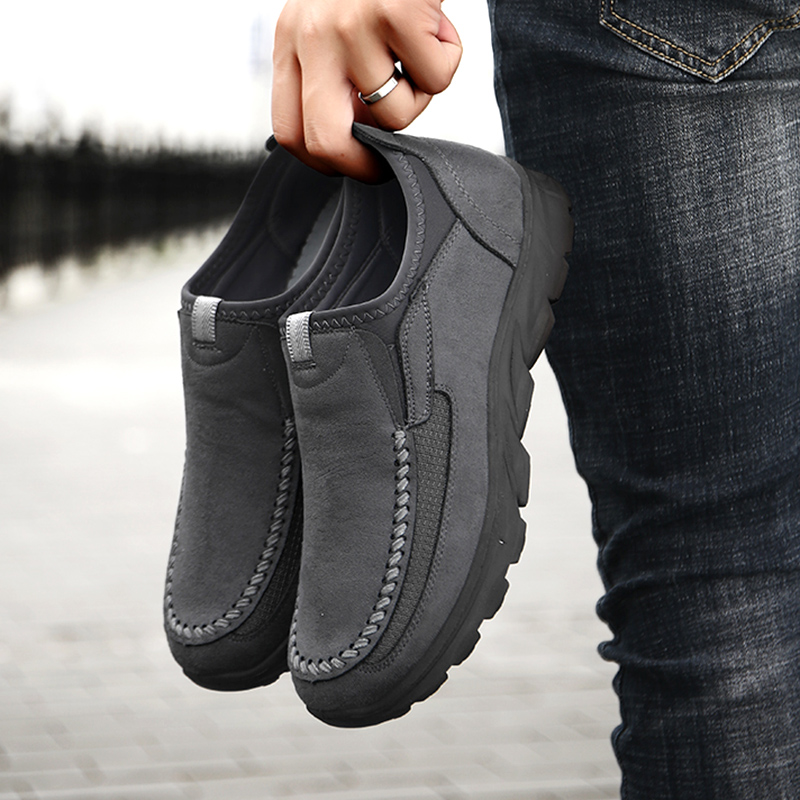 Men Casual Shoes Loafers Sneakers 2021 New Fashion Handmade Retro Leisure Loafers Shoes Zapatos Casuales Hombres Men Shoes 3