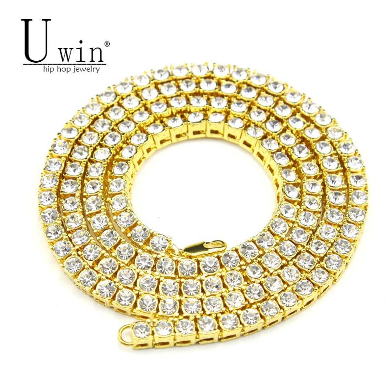 UWIN Mens Hip Hop Necklace...