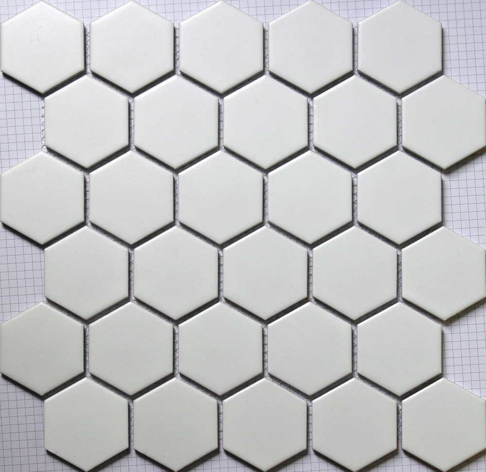 11pcs white hexagon ceramic mosaic tile kitchen backsplash shower 11pcs white hexagon ceramic mosaic tile kitchen backsplash shower bathroom swimming pool wall paper tiles shower background in wallpapers from home dailygadgetfo Gallery