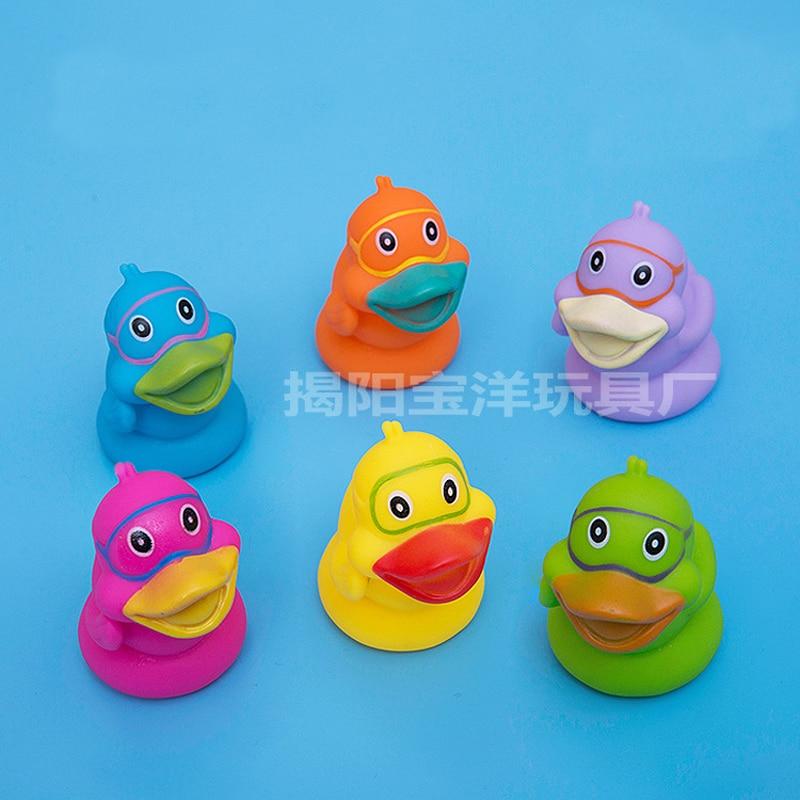 6pcs/lot Cartoon Float Water Swimming Child\'s Play Mouth Mini Small ...