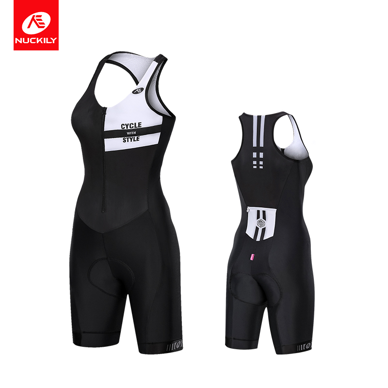 NUCKILY Women Triathlon suit Cycling Bicycle Clothing Bike Set   GW002