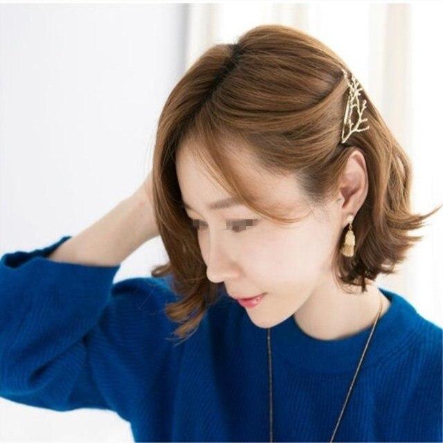 Women's Fashion Minimalist Lovely Retro Branches hair clips CJWD73 2