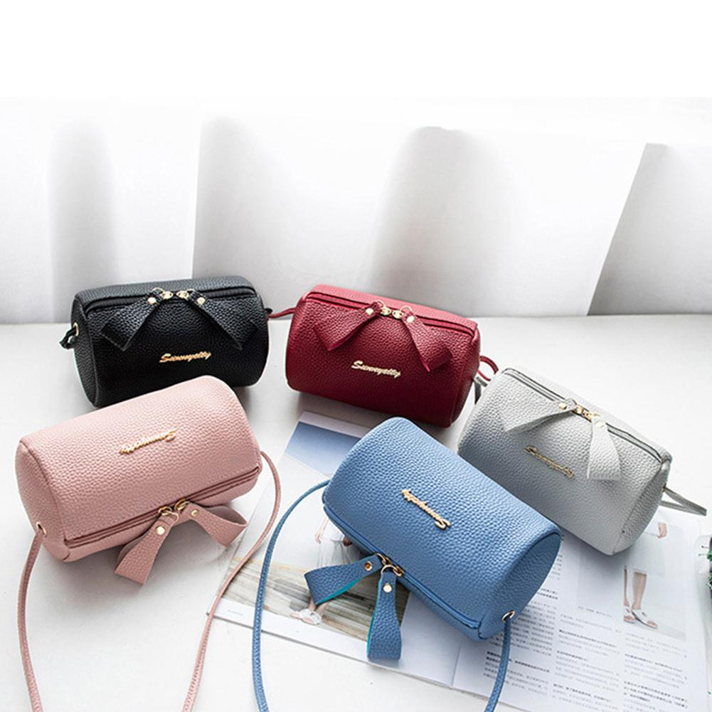 Fashion Shoulder Bag For Women Messenger Bags Ladies Zipper PU Leather Handbag Purse With Tassels Female Casual Crossbody Bag