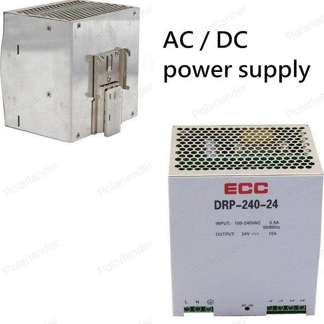 AC/DC 24 В 10А двойной выход Напряжение питания Для Трансформатор Выключатель Питания железнодорожных Адаптер Драйвер для свет Прокладки СИД