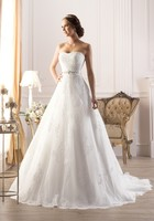 Beach Style A Line Sweetheart Wedding Dresses Sweep Train Ivory Tulle Sexy Wedding Dress With Lace