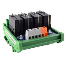 цена на Original Omron Relay Module, 4-way 1NO+1NC 24v Electromagnetic Relay