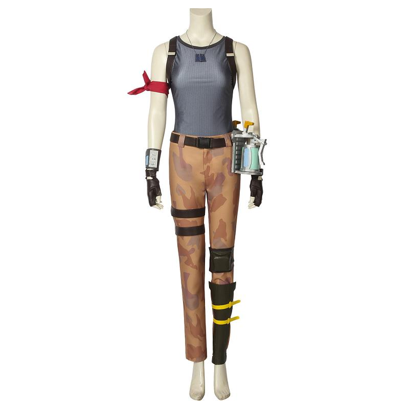 Battle Royale Ramirez Cosplay Costume Halloween Christmas Adult Women Superhero Outfit Full Set with Props Custom Made