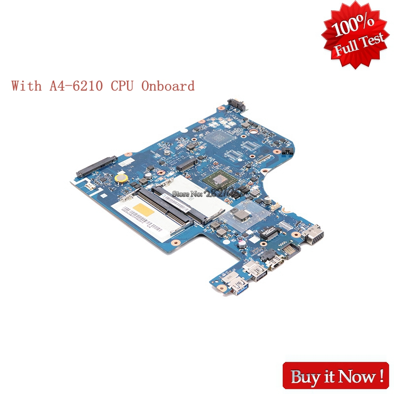 NOKOTION laptop Motherboard for Lenovo G70-35 A4-6210 CPU CG70A NM-A671 on-board video R5 M330 Tested