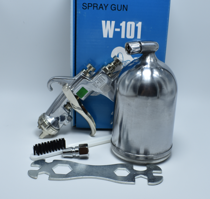 W-101-134G SPRAY GUN hand manual spray gun, 1.0/1.3/1.5/1.8mm, Japan made, aerograph air SPRAY PAINT GUN ...