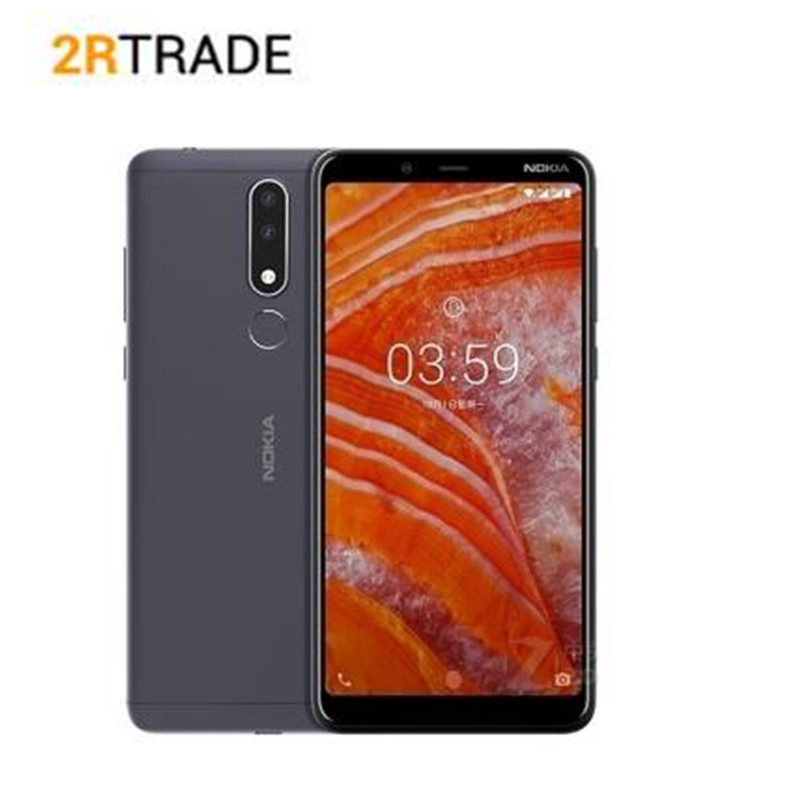 NOKIA 3.1 Plus 6.0 Helio P22 Octa core Android 8.1 OS 3G 32G Smart Phone 13MP 4G FDD Mobile phone
