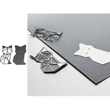 Fox Metal Cutting Dies for Scrapbooking and Cards Making Paper Craft New 2019
