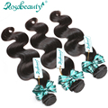Rosabeauty Hair Products Brazilian Virgin Hair 3 Bundles Brazilian Body Wave weave bundles Free Shipping