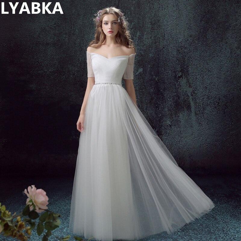 vestido de noiva generous sweetheart beach wedding dress robe de mariee 2017 style back lace up short sleeve wedding dresses