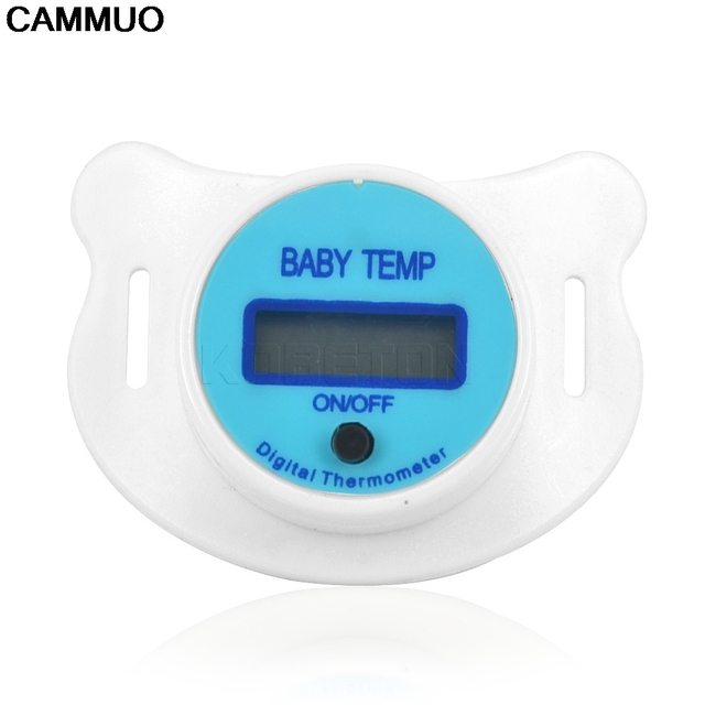 Baby Nipple Thermometer Health Monitors