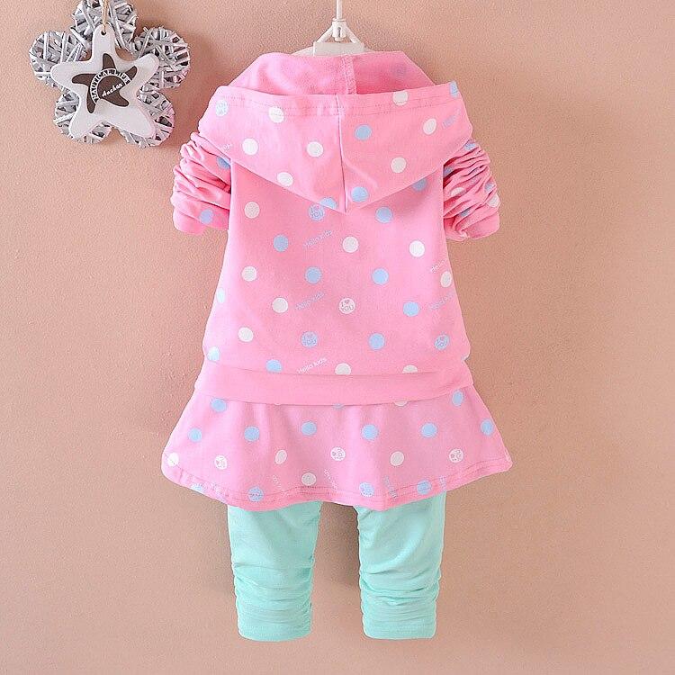 Ropa para niños Conjuntos de niña bebé Moda de algodón de calidad - Ropa de ninos - foto 4