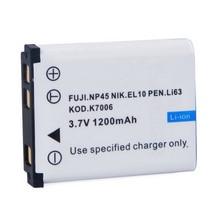 Bateria para Câmera 1 Pcs Novidade Li-42b Digital para Olyli-40b e 42b Fuji. Np45 Nik. El10 Caneta. Li63 Kod. K7006