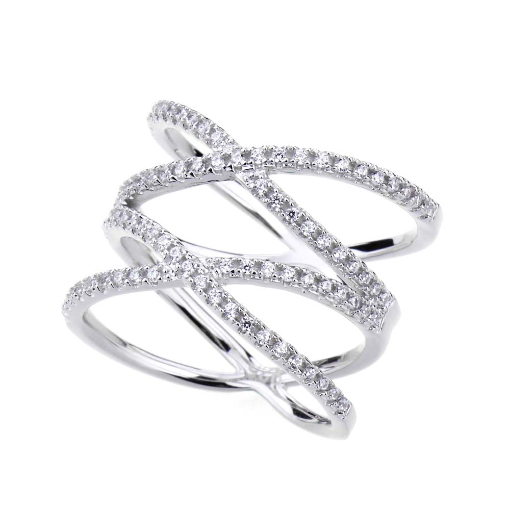 basket micro sterling cz made weave ring dcr in rings silver pave