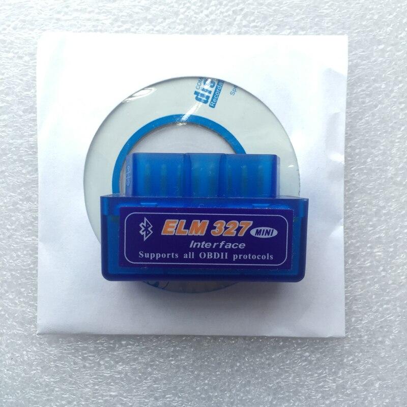 מכירת חמה החדש OBD V2.1 mini ELM327 OBD2 Bluetooth האוטומטי הסורק 2 OBDII רכב ELM 327 בודק כלי אבחון עבור אנדרואיד Windows