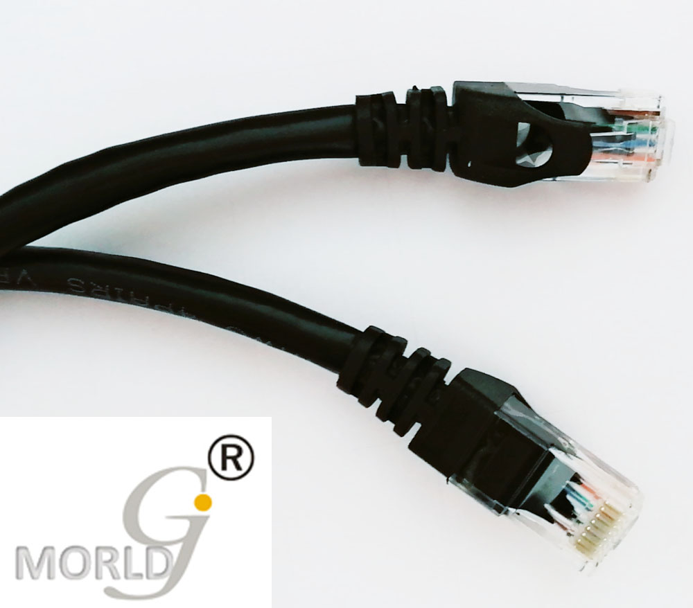 MORLDGJ 0.3M Hot Sells CAT6 UTP Round Cable  Ethernet Cables  30cm Network Wire RJ45 Patch Cord Lan Cable Made In China