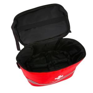 Image 3 - 応急処置キットキャンプ軍事キット大ショルダーストラップポータブル車の緊急医療バッグホームトラベル屋外収納袋