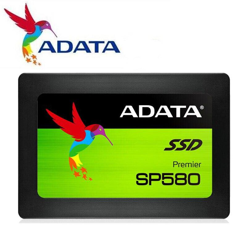 ADATA SP580 SSD Настольный ПК 240 ГБ 120 ГБ 2,5 дюйма SATA III HDD жесткий диск HD SSD ноутбук ПК 480 ГБ 240G Внутренний твердотельный накопитель