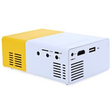 YG300 YG310 LED Portable Projector 400-600LM 3.5mm Audio 320 x 240 Pixels YG-300 HDMI USB Mini Projector Home Media Player