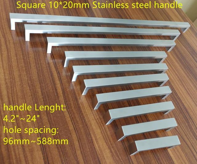 1020mm square bar door handle stainless steel kitchen door cabinet 1020mm square bar door handle stainless steel kitchen door cabinet handle pull knob 42 eventshaper
