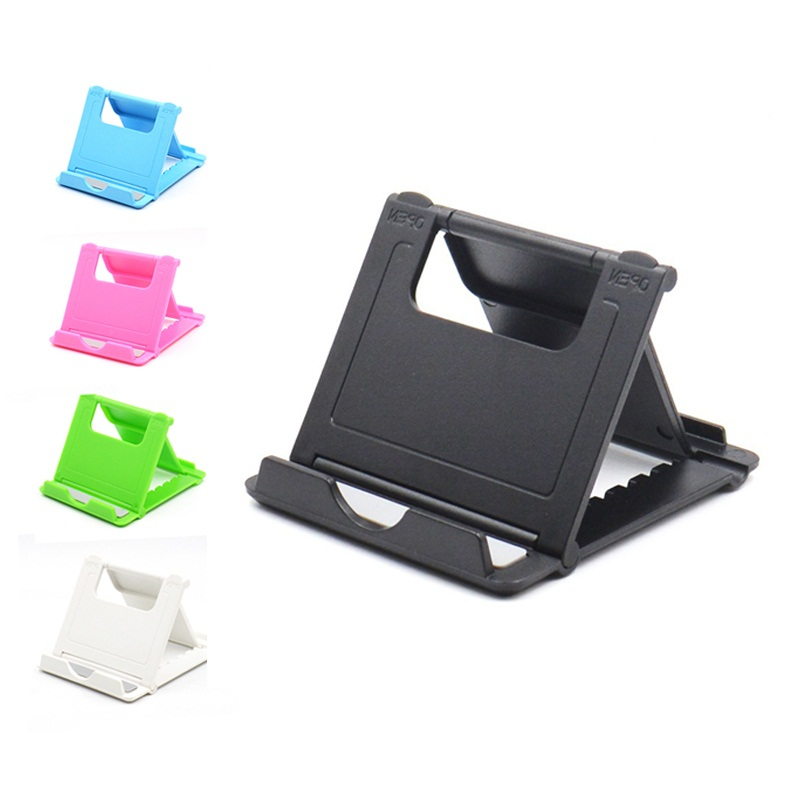 Universal Desktop Holder Stand Cradle Mount For Cell Phone Tablet 2019 Trend Solid Color Portable Non-adjustable Fixed Angle