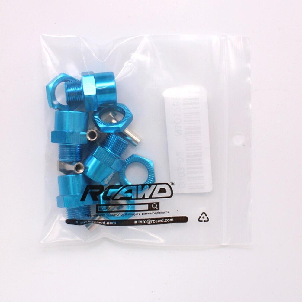 4pcs Aluminum Wheel Hex Nut 12MM With Pins Drive Hubs HSP 1//10 Upgrade Parts  WD
