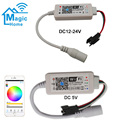 DC5V DC12-24V Magic Home LED SPI контроллер адресуемый 2048 пикселей мини WiFi контроллер для WS2811 SK6812 WS2812B Светодиодная лента