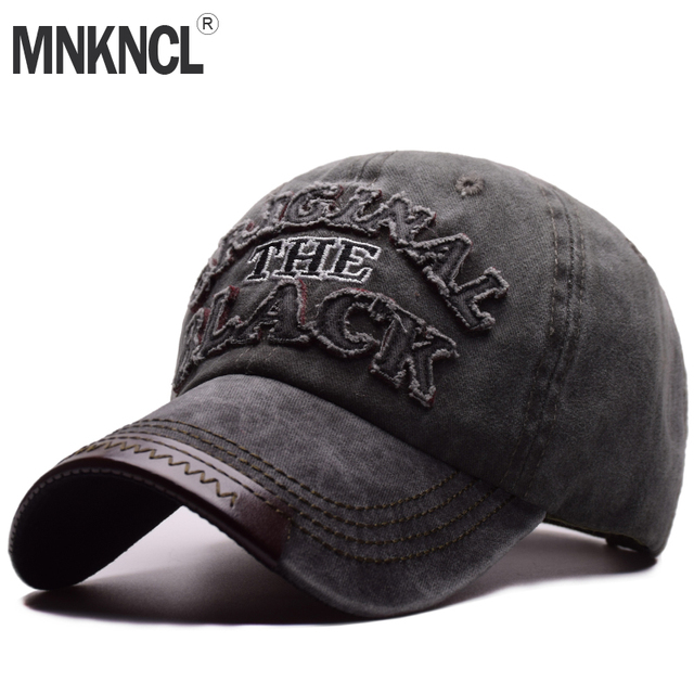 0b7a81b7a6673 MNKNCL Hot Retro Washed Baseball Cap Fitted Cap Snapback Hat For Men Bone  Women Gorras Casual