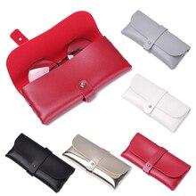 Glasses Case Oversize Foldable Vintage Women Fashion Magnetic for Bag