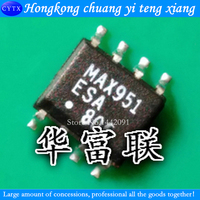 Patch MAX951ESA MAX951CSA Direct Shooting Single-Supply Operational Amplifier Comparator SOP-8 5pcs/lot
