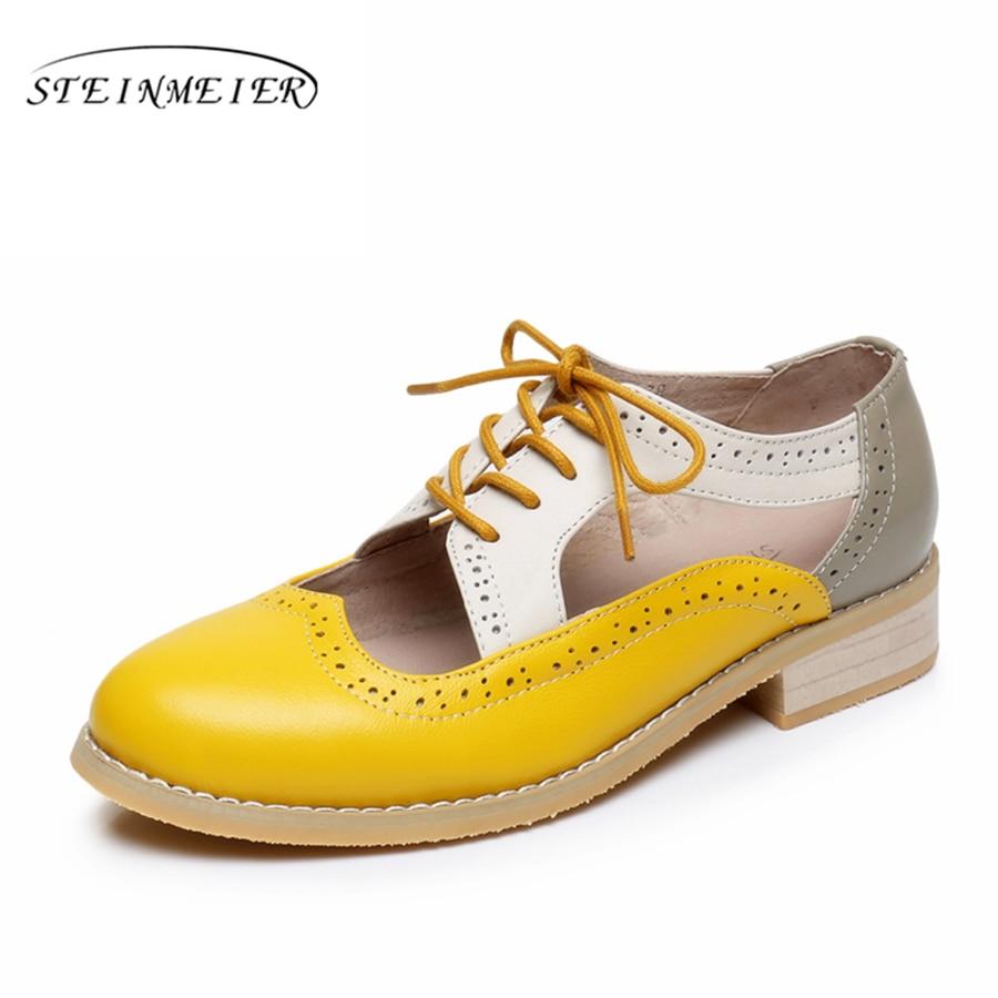 e75d1d2e1f5 Verano de las mujeres oxford sandalias zapatos de mujer zapatos de  plataforma de 2019 hecho a mano zapatos oxfords zapatos para mujeres zapatos  ...