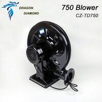 220V 750W Blower Exhaust Fan Air Blower for CO2 Laser Engraving Cutting Machine Medium