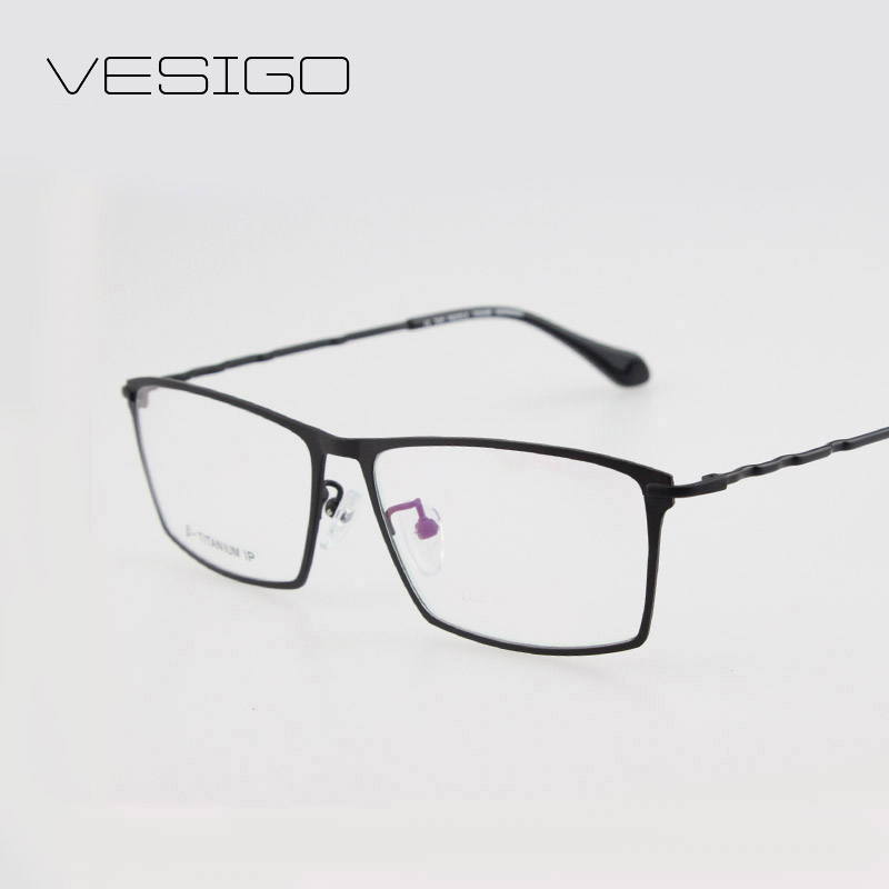 black friday pure titanium full frame glasses clear eyeglasses frames men optical spectacle frame eye prescription glasses spring temple