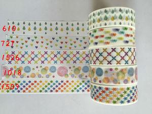 Image 5 - 2291 n cina allingrosso nastro jiataihe washi tape design decorativo modello FAI DA TE decorazione di natale logo arcobaleno 20 pz/lotto