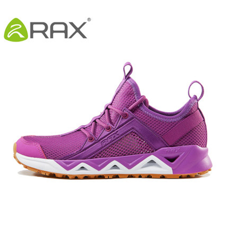 Rax spring and summer trace shoes men's speed interference aqua shoes female breathable anti-slip outdoor fishing shoes impact
